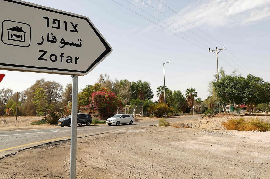 The Israeli-Jordanian border near the Moshav Tsofar crossing point. King Abdullah II announced on Tuesday that Jordan has notified Israel that it wants to reclaim territories leased for agricultural use under their 1994 peace deal.