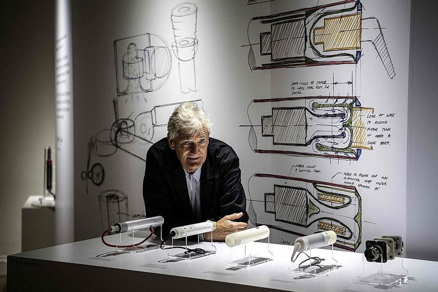 The Dyson company, founded and owned by entrepreneur James Dyson (left), said the decision to build an electric car plant in Singapore was based on a host of reasons, from supply chains, access to markets and the availability of expertise. The factor