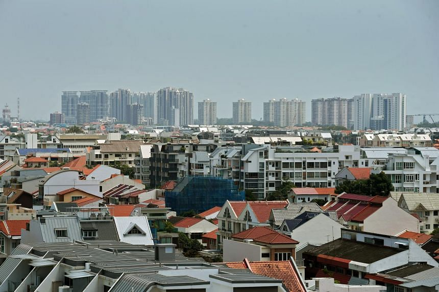 Rents of landed properties rose by 0.5 per cent, a big drop from the 3.6 per cent increase in the second quarter.