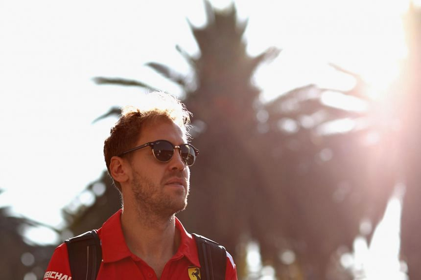 Ferrari's Sebastian Vettel walks in the Paddock during previews ahead of the Formula One Grand Prix of Mexico at Autodromo Hermanos Rodriguez in Mexico City, Mexico, on Oct 25, 2018.