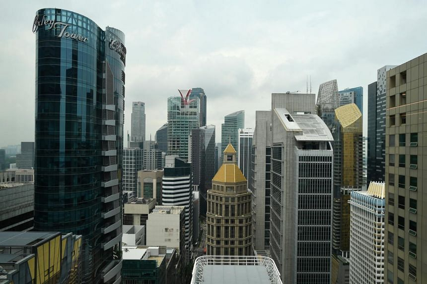 Prices of office space in the central region notched up just 0.1 per cent in the third quarter, after rising 1.9 per cent in the second quarter.