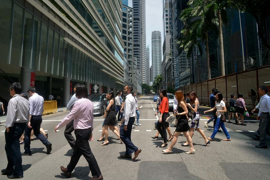 Overall, the labour market continued to improve, with total employment growth more than doubling in this period, said the Ministry of Manpower.