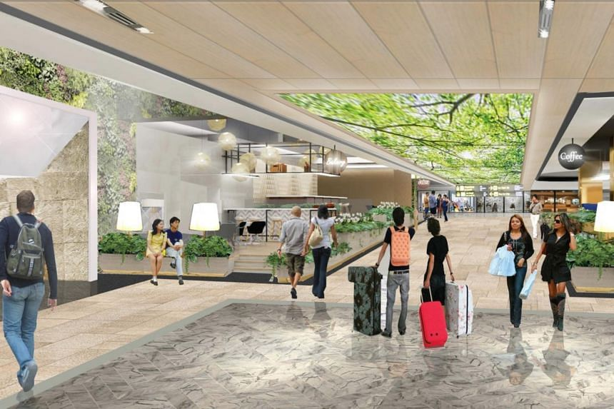 New shops being added include Terminal M by MOF, a halal food hall concept serving a mix of Korean, Japanese and Chinese cuisines with an aviation-themed design.