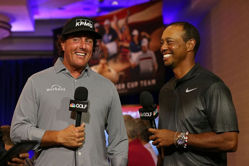 The Tiger Woods-Phil Mickelson US$9 million made-for-TV match set for Nov 23 will carry a pay-per-view price tag of US$19.99.