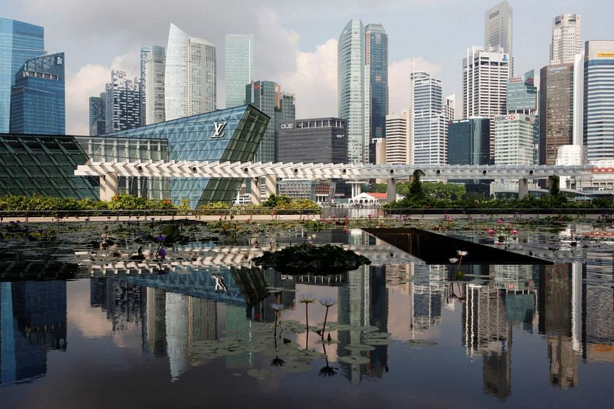 Singapore's economy is likely to expand at a slower pace for the rest of the year, averaging at the upper half of its 2.5 to 3.5 per cent range, moderating slightly in 2019.