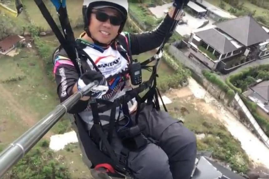 Video of paraglider who died in India plays on TV as family