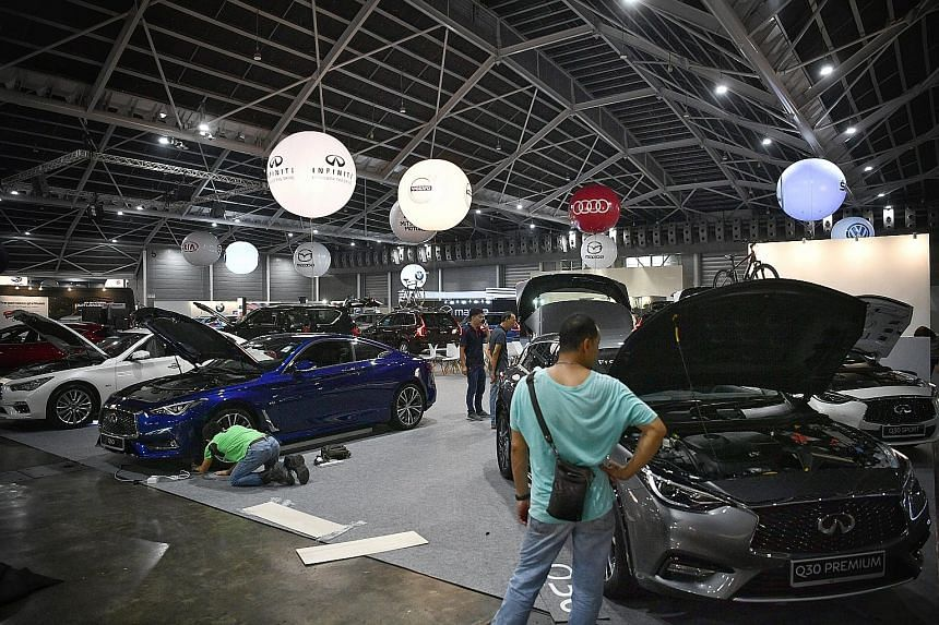 More than 40 companies will be at retail bazaar Cars@Expo, which will take place at Singapore Expo Halls 5 and 6 this weekend.
