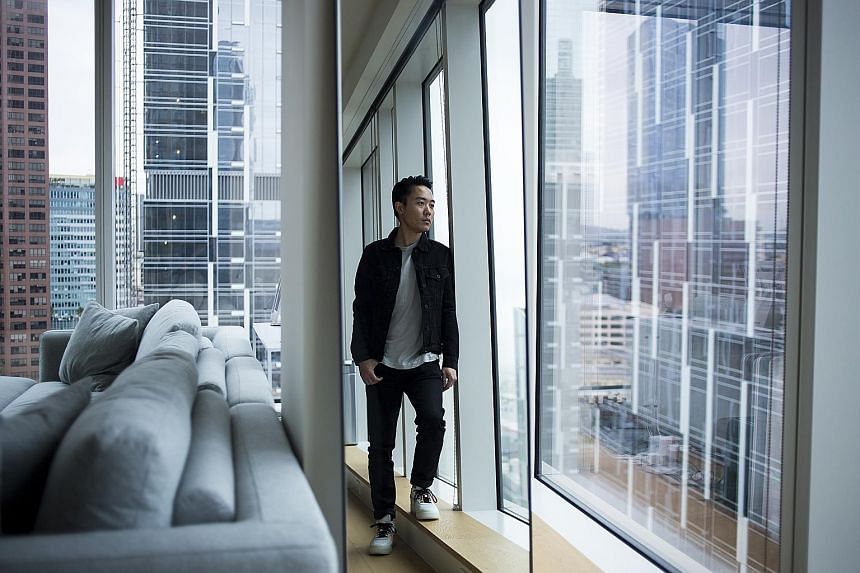 The 24th-floor home of Mr Anthony Nguyen is located in Metropolis, a mixed-use complex that its developer says is the largest of its kind in the western United States.