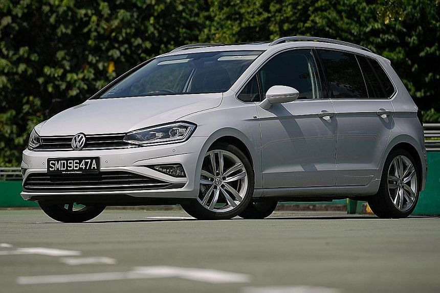 The Volkswagen Golf SV is adequately breezy for everyday use and is amply responsive.