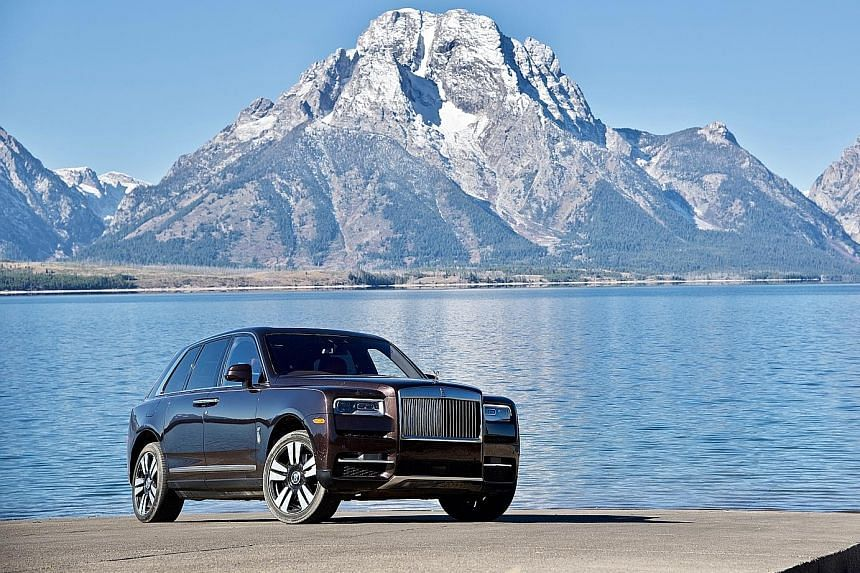 "The Cullinan retains Rolls-Royce's famed ""magic carpet"" ride, composed chassis and serene cabin."