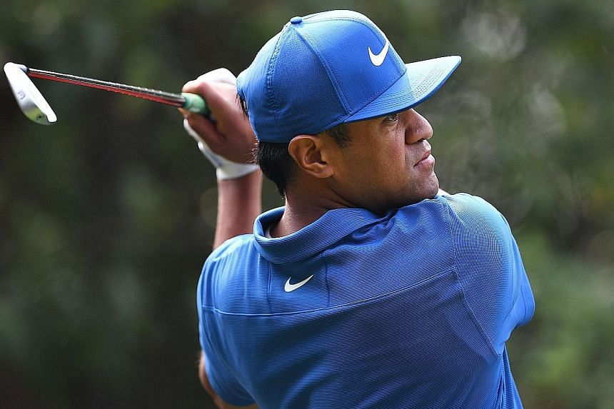 It has been a breakthrough year for Tony Finau, teeing off during the second round of the WGC-HSBC Champions tournament in Shanghai yesterday. He had 10 top-10 finishes and made the United States Ryder Cup team.
