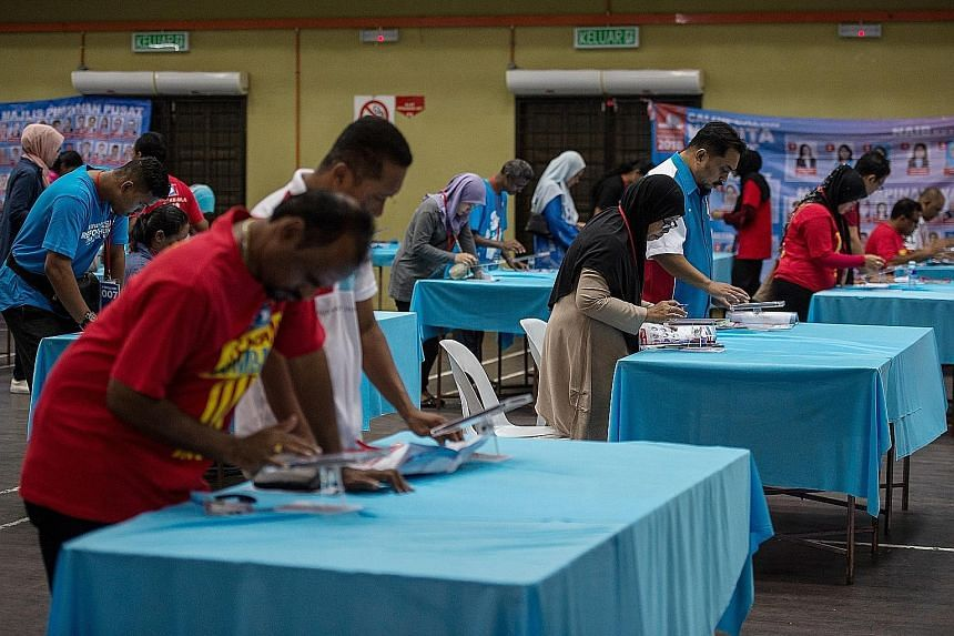 PKR's election is Malaysia's longest, allowing each of its 800,000 members to elect office bearers. Balloting in the triennial polls is spread across eight weekends or more than two months.