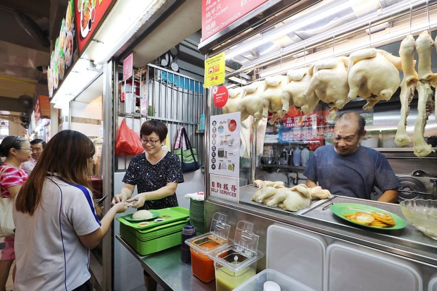 The hawker centre in Little India is the latest to join 12 others around Singapore to offer healthier options, including whole grain dishes.