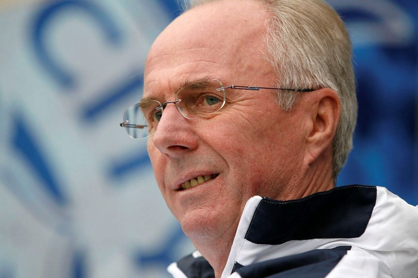 File photo of former England coach Sven-Goran Eriksson, who has signed a six-month deal with the Philippines national team.