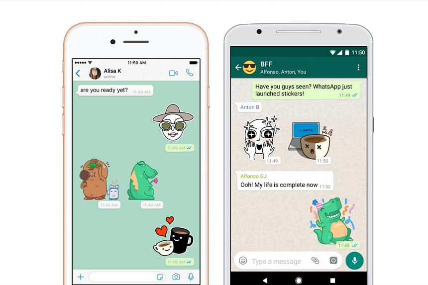 Facebook-owned WhatsApp to introduce stickers for messaging, finally