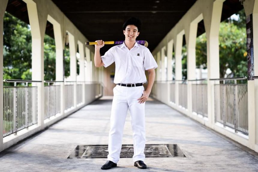 St Andrew's Secondary hockey captain Sean See is The Straits Times' Young Star of the Month winner.