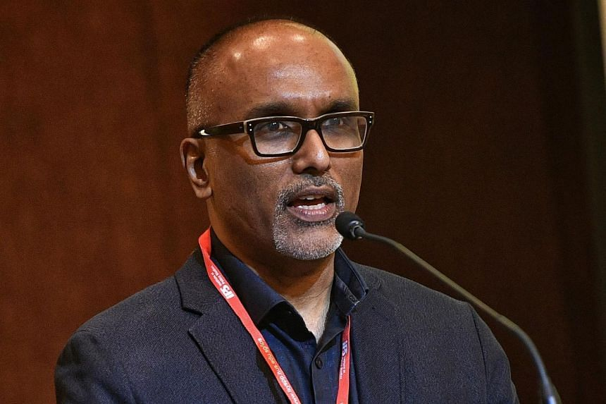 File photo of professor Cherian George. Prof George said the Government has been trying to be in the middle on certain important issues, and that this is an ideological choice and not a neutral one.
