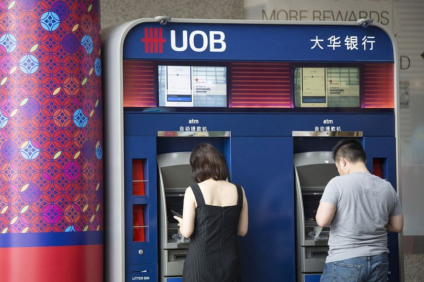 UOB's net profits were generally in line with expectations for the third quarter but earnings were 4 per cent down from the $1.08 billion racked up in the second quarter, as credit costs rose marginally.