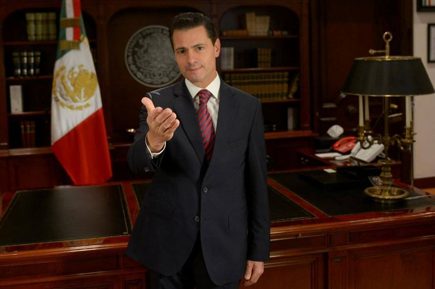 "Mexican President Enrique Pena Nieto announced the ""make yourself at home"" plan that migrants who agree to remain in Chiapas and Oaxaca states can ""receive medical care and even send your children to school""."
