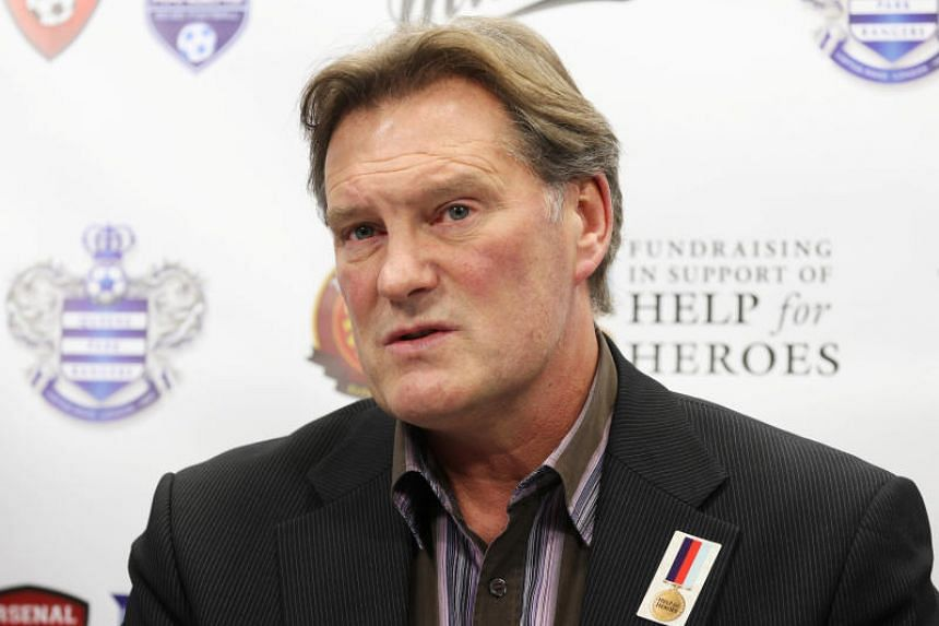 Former England football manager Glenn Hoddle remains in serious condition, though a spokesman said he is responding well to treatment.