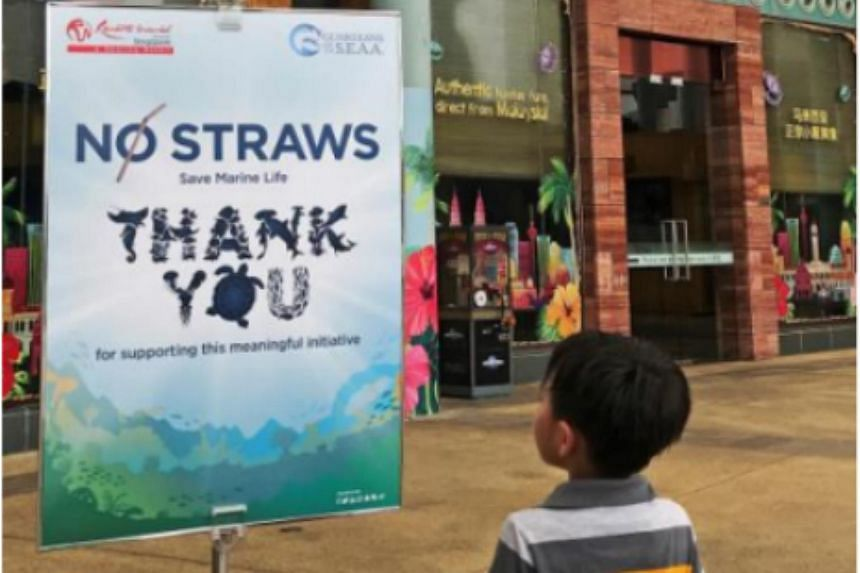 Resorts World Sentosa said the latest move will eliminate the use of more than three million straws per year from its attractions and dining establishments.