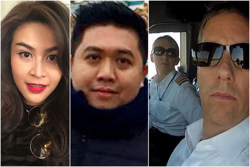 Member of staff Nursara Suknamai (left), Mr Vichai's assistant Kaveporn Punpare (centre), and pilot Eric Swaffer and his girlfriend Izabela Roza Lechowicz, were also killed in the crash.