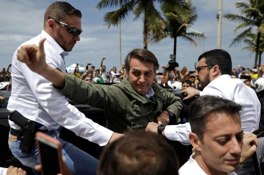 The 63-year-old Jair Bolsonaro has vowed to crack down on crime in Brazil's cities and farm belt.