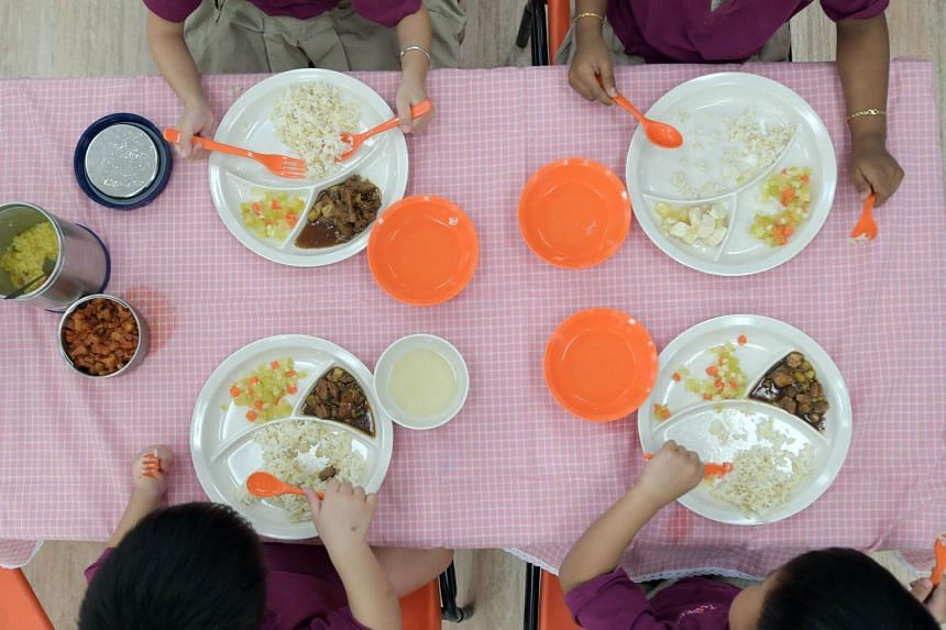 Whole grains, fruit and vegetables are already being served in pre-schools, while sugary drinks and deep-fried food are not allowed.