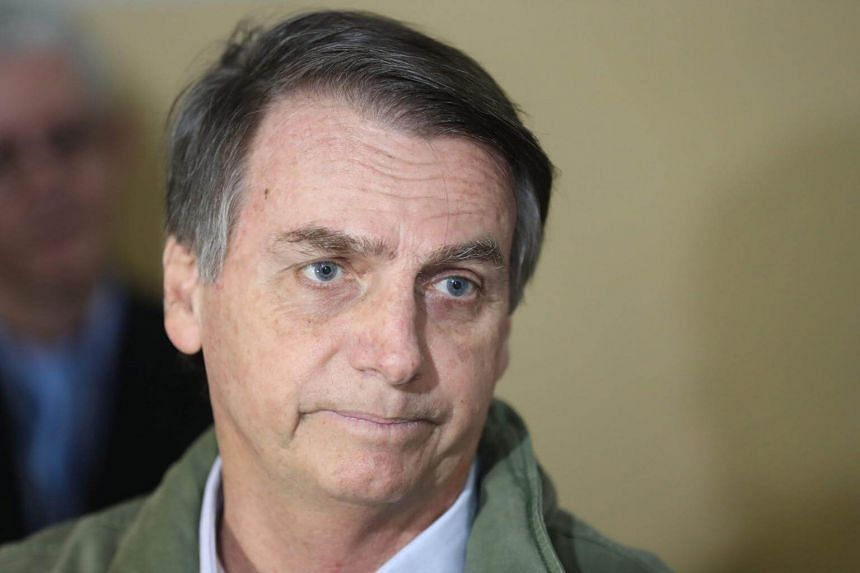 Mr Jair Bolsonaro, 63, has built an image as a political outsider ready to rough up the establishment - no small feat given that, unlike the US President, he is a long-time politician.