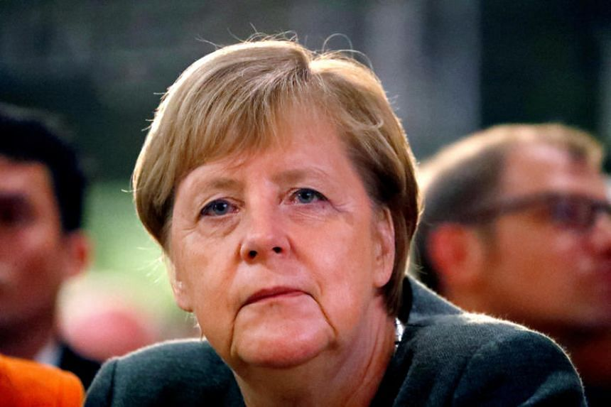 In a stunning reversal, German Chancellor Angela Merkel told a leadership meeting of her Christian Democratic Union party that she will not run again for the party chairmanship.