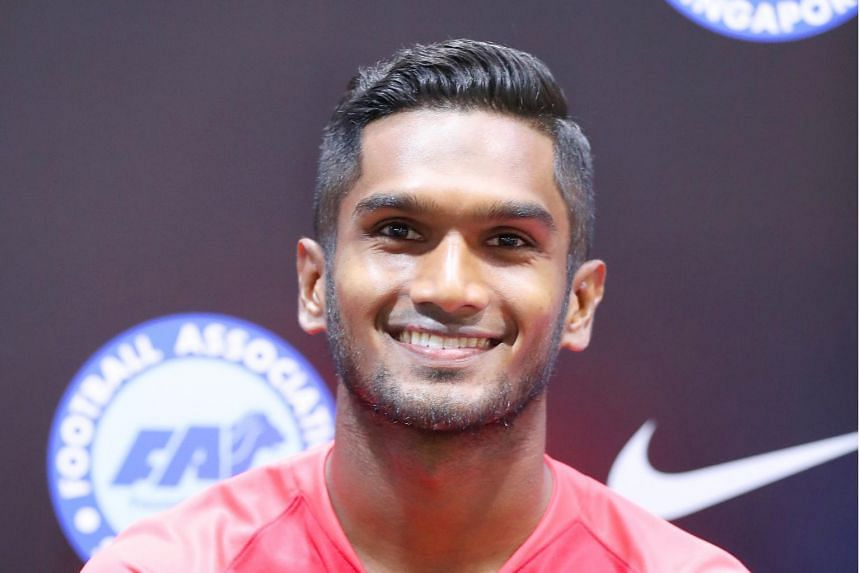 Singapore Lions football team captain Hariss Harun told The Straits Times that the team would have liked to play and train more at the National Stadium to be more familiar with the pitch.