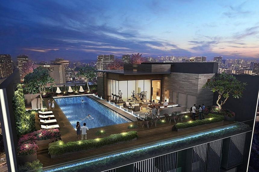 Sky pool, rooftop bar at new co-working space in Cecil Street, Property  News & Top Stories - The Straits Times