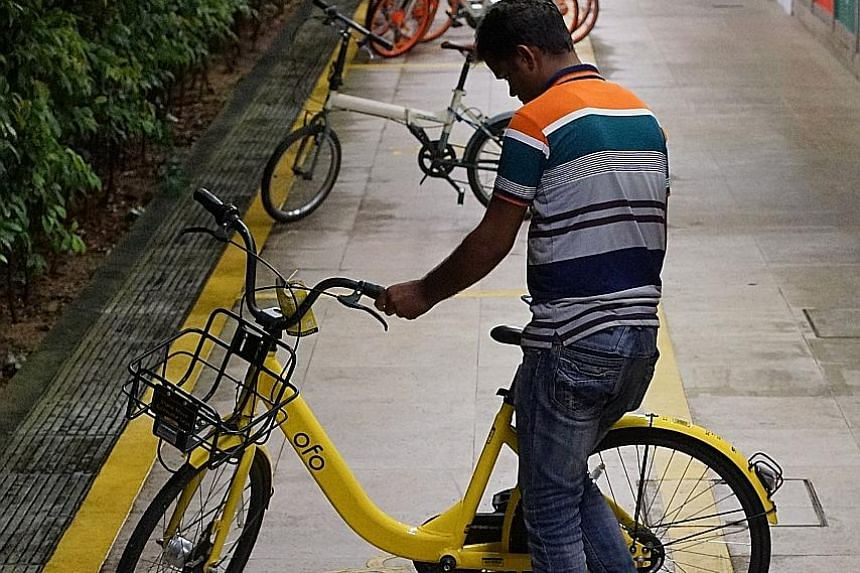 "Ofo was granted a maximum fleet size of 25,000 bicycles - ""much lower"" than what it first applied for. But it subsequently asked to operate 10,000 bikes instead, and LTA agreed."