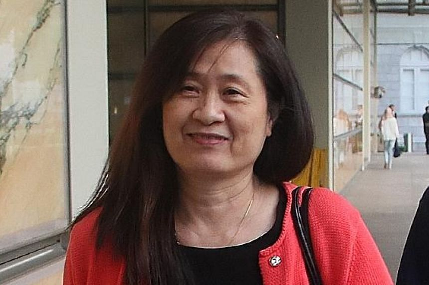 Ms How Weng Fan (above) said yesterday that they had been in a political situation and a new MP like Ms Sylvia Lim would not have been able to handle a situation in which all the government bodies were coming at AHTC.