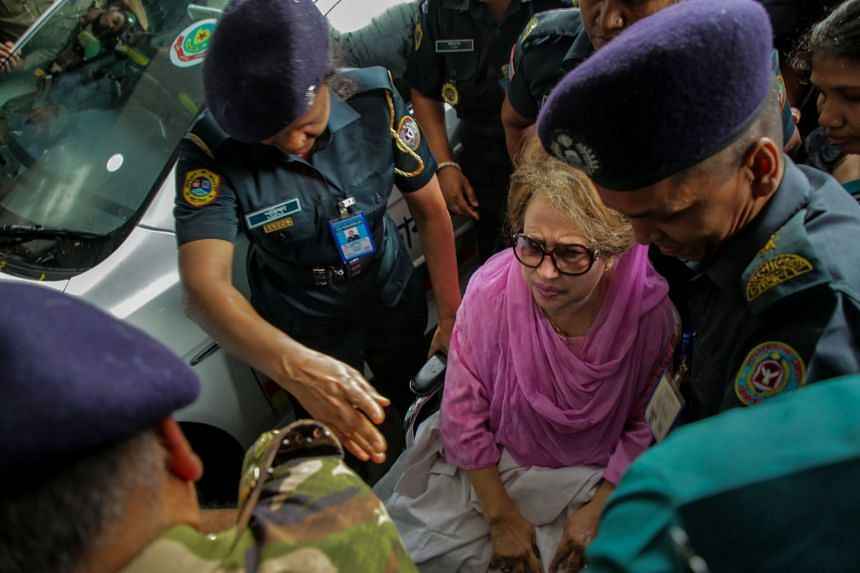 Khaleda Zia, widow of assassinated military dictator Ziaur Rahman, faces dozens of separate charges related to violence and corruption that her lawyers insist are baseless.