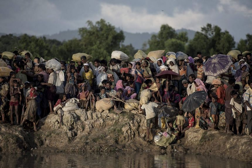 The authorities in Myanmar say more than 100 displaced Rohingya have returned in recent months, but Bangladesh insists that the official process has not commenced.
