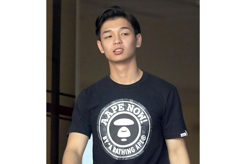Jonathan Kong Jia Xiong, 19, pleaded guilty in court to one count of extortion on Oct 30, 2018.