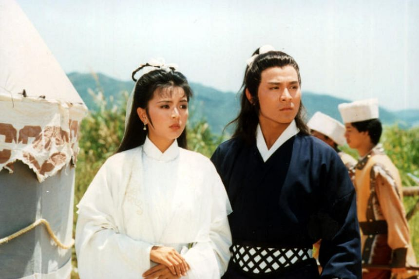 Andy Lau as Yang Guo and Idy Chan as Xiaolongnu in the 1983 Hong Kong television series The Return Of The Condor Heroes, based on the novel by Jin Yong.