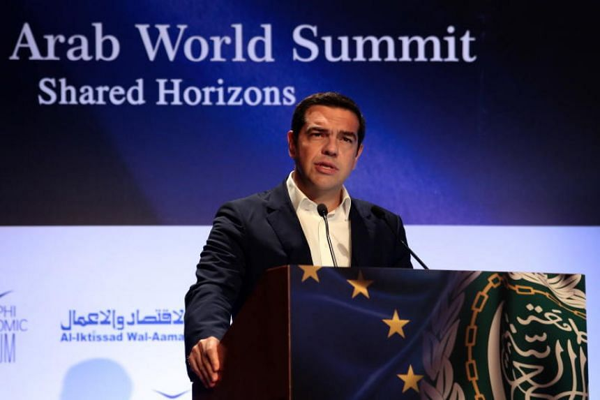 """At the 3rd EU-Arab World Summit, Greek Prime Minister Alexis Tsipras hailed the growing trade links between Europe and the Middle East as becoming """"more and more significant not only for our region, but also for the world""""."""