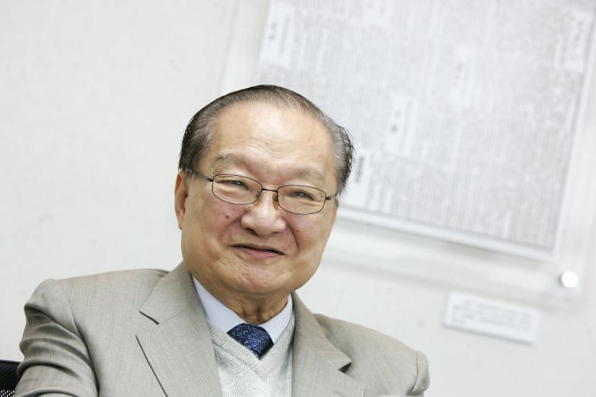 Louis Cha, also known as Jin Yong, is known for writing the Legends Of The Condor Heroes series of books.
