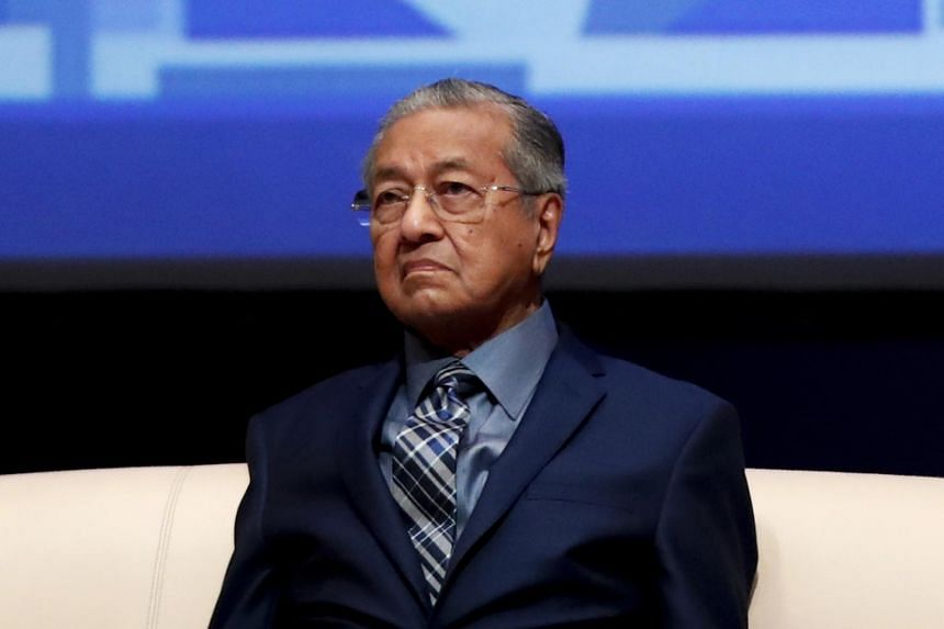 """Tun Dr Mahathir Mohamad said: """"This is the first time I'm hearing about it."""""""