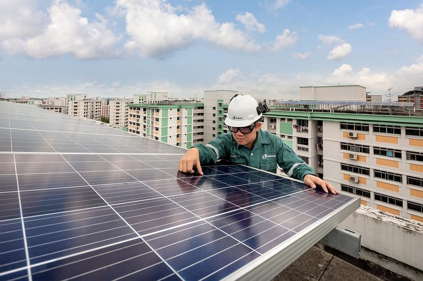 Sembcorp, an established global renewable player, now one of the largest solar players in Singapore.