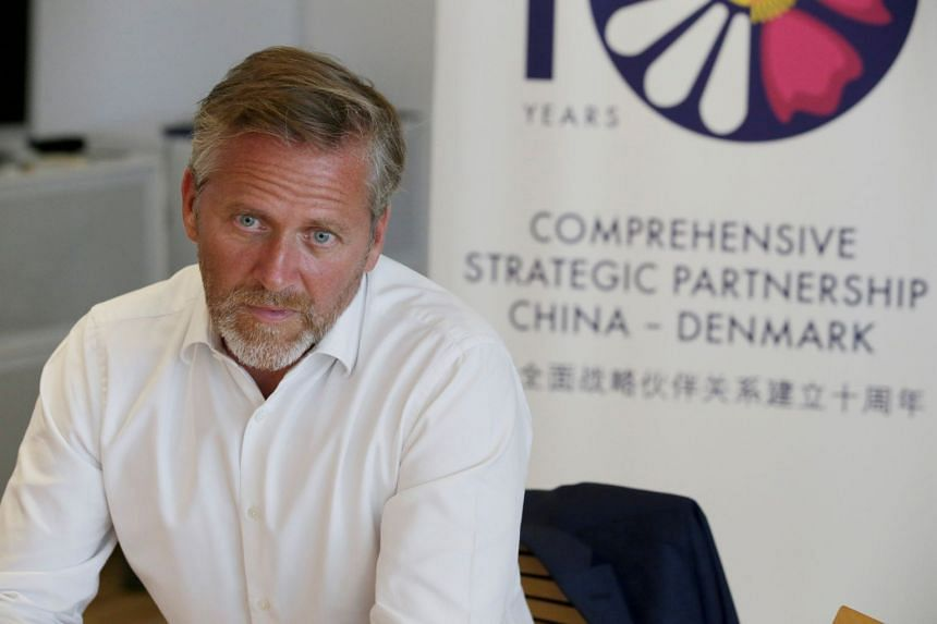"""Danish Foreign Minister Anders Samuelsen (above, in a file photo) said the reported attack plot was """"completely unacceptable""""."""