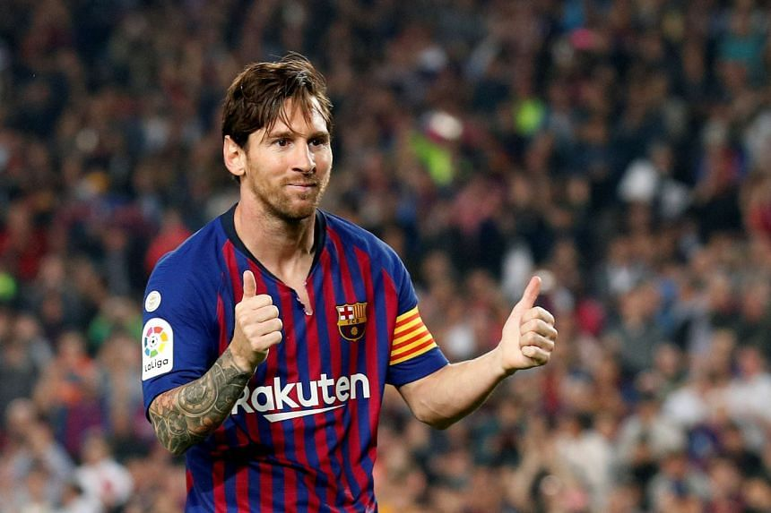 Reports in Spain suggest Messi (above) may be available for first-team action quicker than forecast.