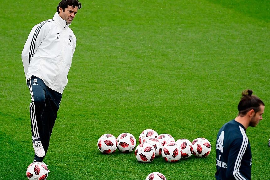 Newly appointed Real Madrid interim coach Santiago Solari has 14 days to stake his claim to the permanent role.