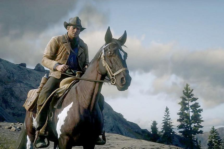 Grand Theft Auto V, the latest instalment of the shoot-'em-up gangster series, has sold nearly 100 million copies and generated more than $8.3 billion in revenue. Red Dead Redemption II creates a reward system for doing good. The better a character c