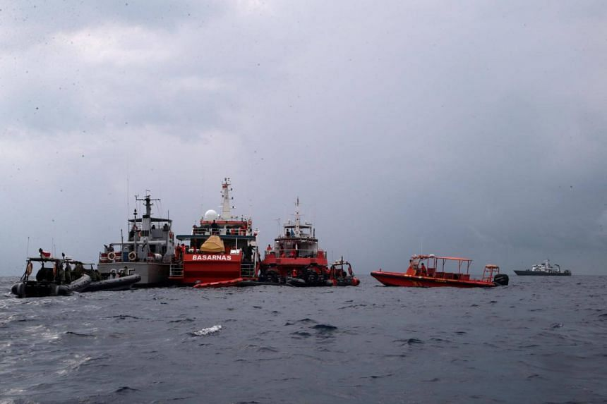 """Indonesia has deployed teams of divers to search for the aircraft while also using """"pinger locators"""". In all, 35 vessels are helping in the search."""