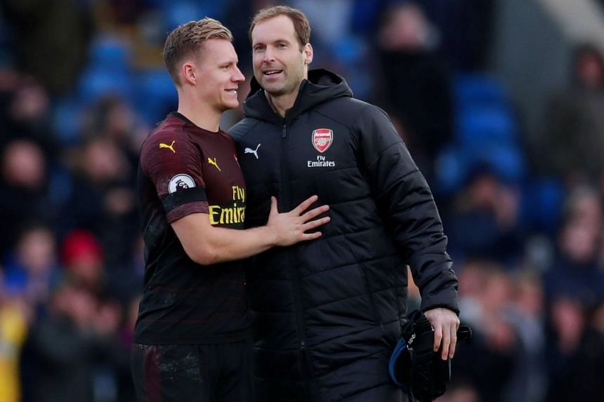 Petr Cech had kept close-season signing Bernd Leno out of the first team at the start of the campaign before he suffered the injury in September 2018, but was on the bench for the 2-2 draw at Crystal Palace on Oct 28, 2018.