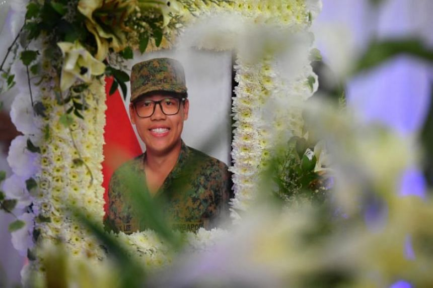 Corporal First Class Dave Lee, 19, suffered a heatstroke after completing a fast march in Bedok Camp on April 18. He died two weeks after he was admitted to Changi General Hospital.