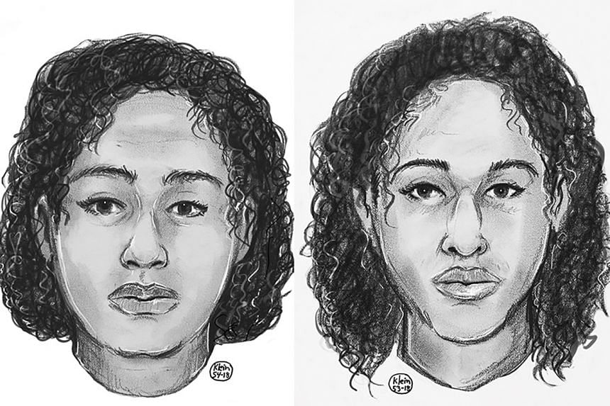 Police sketches of the two sisters, Tala Farea, 16, left, and Rotana Farea, 22.